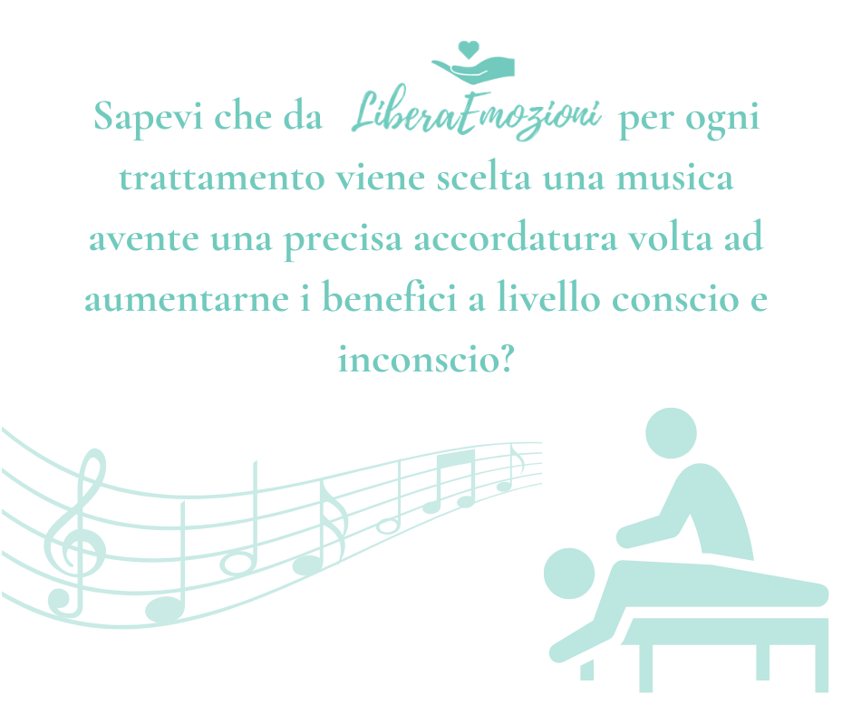 Musica con frequenze differenti per i trattamenti