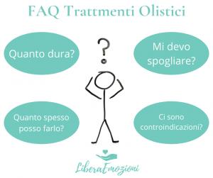 Domande e Risposte sui massaggi